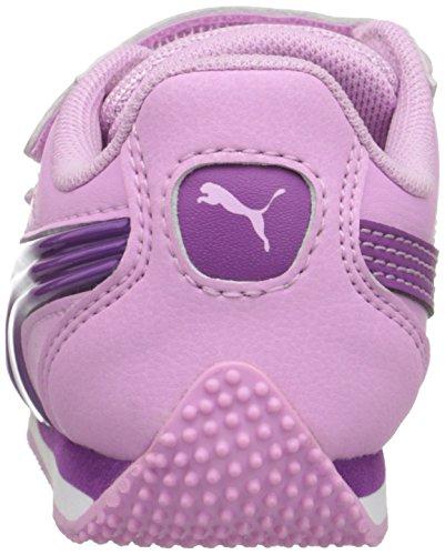 Puma Speed Light-Up Cuir Baskets Pastel Lavender/Hollyhock