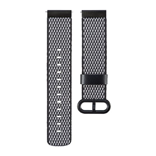 Preisvergleich Produktbild Armband Uhrenarmband für Garmin vívoactive 3 GPS Smartwatch Upxiang Mode geflochtenes Nylonarmband Uhrenarmband Handschlaufe (Schwarz)