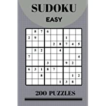 Sudoku Easy 200 Puzzles Game: Sudoku Puzzle Book Easy Game