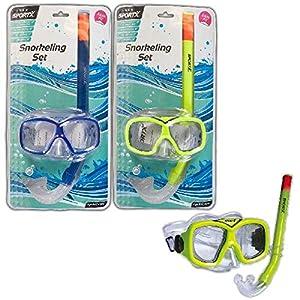 SPORTX - 0768005 - Ayuda El Swim - Snorkel Comfort Júnior Set