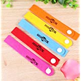 Ruichenxi 20pcs Mosquito Repellent Bracelet all Natural Wristbands Bug Insect Repellent Bands for Kids baby and Adults Outdoor & Indoor 100% Guaranteed To Work and safe Deet-free ADJUSTABLE (5 COLORES