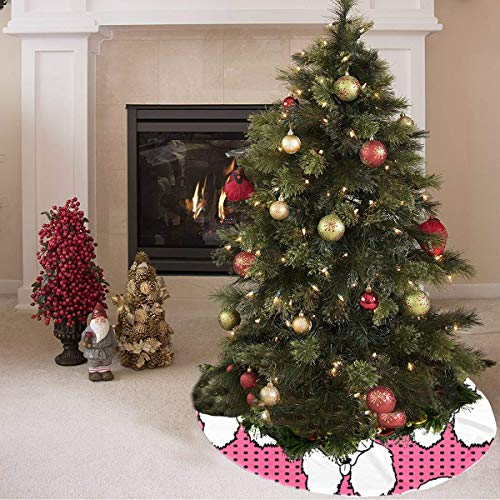 Niedlichen Pudel Röcke - Weihnachtsbaum Rock Cartoon niedlichen Standard Haustier