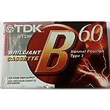 TDK Brilliant cassette 60 minutes Blank
