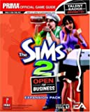 The Sims 2 Open for Business - Prima Official Game Guide: Expansion Pack