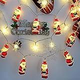 Weihnachtsmann-Lampensaite