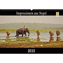Impressionen aus Nepal (Wandkalender 2018 DIN A2 quer): Nepal entdecken - Farben eines besonderen Landes (Monatskalender, 14 Seiten ) (CALVENDO Orte)