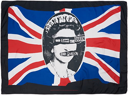 Sex Pistols,God Save The Queen, Fahne -