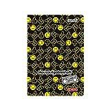Herlitz 50001705 Hausaufgabenheft Smiley World, A5, schwarz