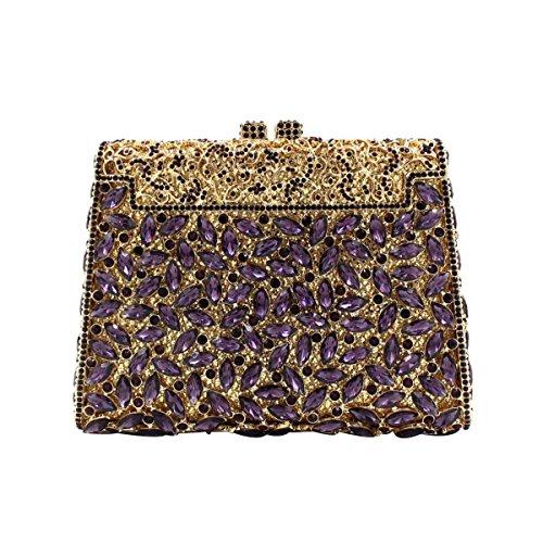 Luxus Handtasche Frauen Abendtasche Diamant A Kristall vqxwvrZ0