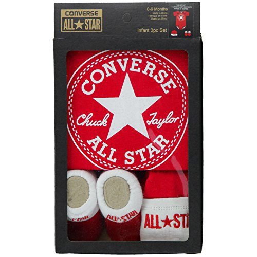 Converse 3 Piece Gift Set - Red/White