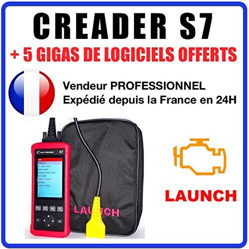 Valise diagnostique Auto Pro Multimarque Obd2 Diagnostic CREADER S7