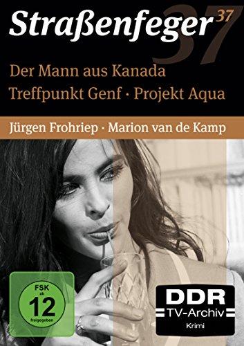 Straßenfeger 37 - Treffpunkt Genf/Der Mann aus Kanada/Projekt Aqua (4 DVDs)
