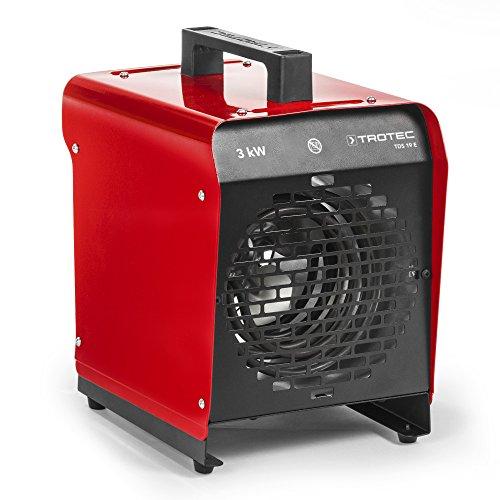 Trotec Elektroheizgebläse TDS 19 E (max. 3 kW), Thermostat, 2 Heizstufen