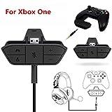 Stereo-Headset-Adapter für Xbox One Game Controller DG, Schwarz