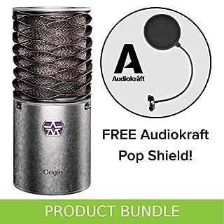 Aston Microphones Aston Origin Condenser Microphone with FREE AudioKraft Pop Shield