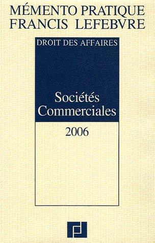 Sociétés Commerciales par Anne Charvériat