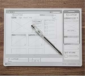 Responsive sketchpad stencils uI