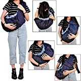 Babymoon Multifunctional Lightweight Nursing Breastfeeding Swaddle Support - Baby Sling Carrier Wrap