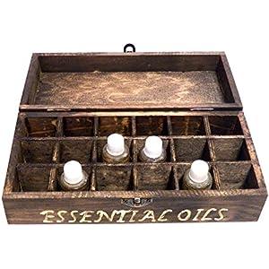 Personifizierter Ölkasten, Organisator Kasten, Wesentlicher Öl-Kasten, Gravierter Öl-Kasten, Hölzerner öl-Kasten, Aromatherapy Kasten