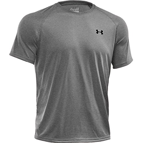UNDER-ARMOUR-UA-Tech-Kurzarmshirt-Herren-Grau-M