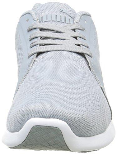 Puma St Trainer Evo Scarpe Sportive Indoor, Unisex Adulto Grigio (Quarry/White 03)