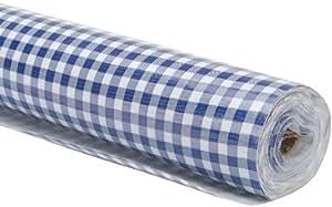 En Toile Cirée 47/121,9cm 12large Yard roll-gingham/Bleu Marine