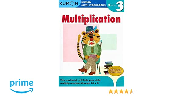 Multiplication Grade 3 (Kumon Math Workbooks): Amazon.de: Michiko ...