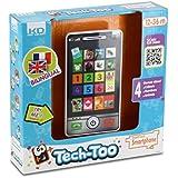 Les Tech Too - S12550 - Jeu Électronique - Mon Smartphone Bilingue