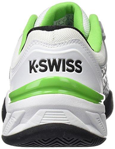 K-Swiss Bigshot 2.5 weiß - grün - silber