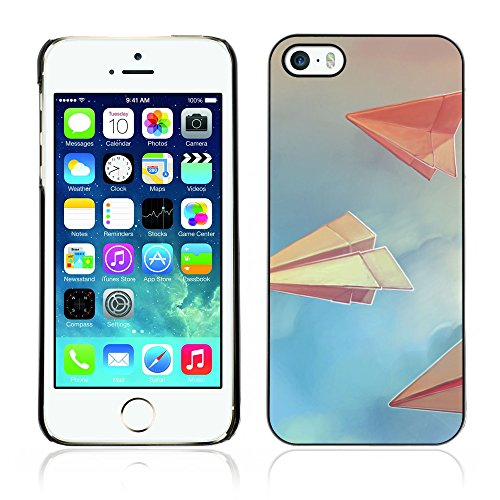Graphic4You Curves On Canvas Digital Art Muster Design Harte Hülle Case Tasche Schutzhülle für Apple iPhone 5 und 5S Design #19