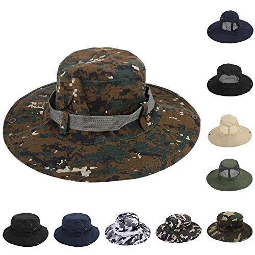 oor Sonnenschutz Rund Angelmuster Camouflage Hut ()