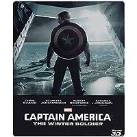 Captain America: The Winter Soldier (Edizione Limitata Steelbook) (Blu-Ray 3D + Blu-ray);Captain America - The Winter Soldier