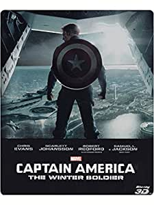 Captain America - The Winter Soldier (2D+3D steelbook) [3D Blu-ray] [IT Import]