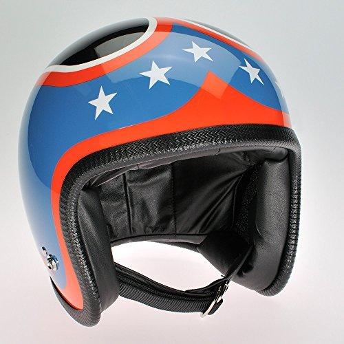 Davida RB New York Neunzig Zwei Helm mit Visier Bolzen - XX-Large