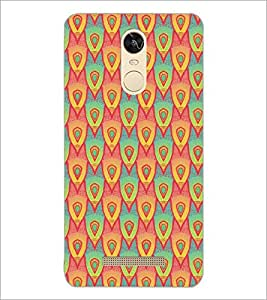 PrintDhaba Pattern D-5244 Back Case Cover for XIAOMI REDMI NOTE 3 (Multi-Coloured)