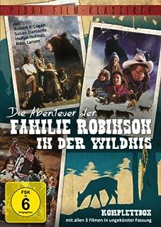 Pidax Film-Klassiker: Die Abenteuer der Familie Robinson in der Wildnis - Komplettbox [3 DVDs]