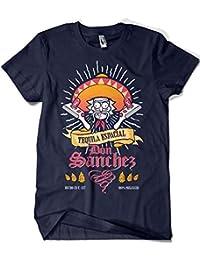 Camisetas La Colmena 2307-Rick and Morty - Tequila Don Sanchez (Diego P.)