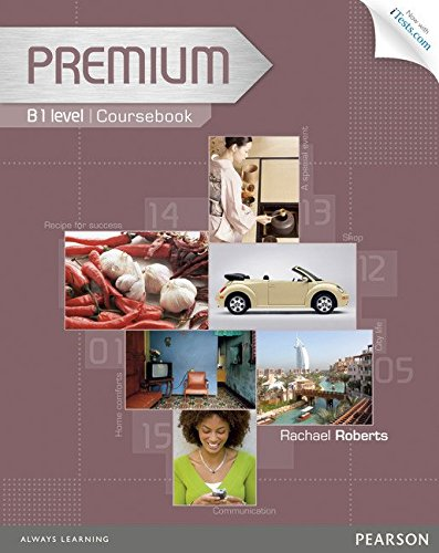 Premium B1 Coursebook with Exam Reviser, Access Code and iTests CD-ROM Pack