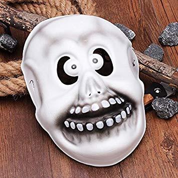 Petsdelite® Schurken-Maske mit großem Mund, Monster-Maske für Halloween, Requisiten