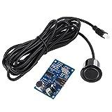 Akozon Sensore ad Ultrasuoni Impermeabile, 5V Modulo di Misurazione Della Distanza Onde ad Ultrasuoni Sensore Resistente All'acqua