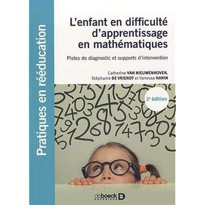 L'enfant en difficulté d'apprentissage en mathématiques - Pistes de diagnostic et supports