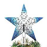 Miaomiaogo Ornamenti di albero di Natale Forniture Pendente Decorazioni all'aperto Colorful Star Decorazione di Capodanno Decorazione Romantic Party Festival