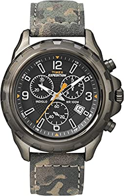Timex - Expedition - T49987 - Cronógrafo Cuarzo Hombre de Timex