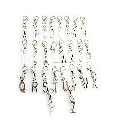 Necklace Pendant Lobster Clip 40th Charm Bracelet