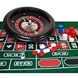 Markenzeichen Poker 18Professional Roulette-Set