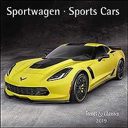 Sportwagen Sports Cars 2019 - Broschürenkalender - Wandkalender - mit herausnehmbarem Poster - Format 30 x 30 cm