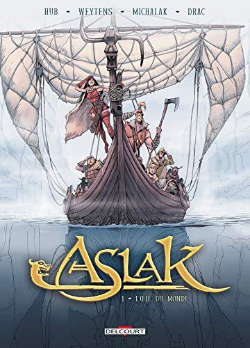 Couverture du livre Aslak T01 : L'Oeil du monde