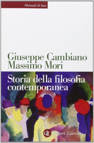 Storia della filosofia contemporanea