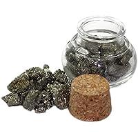budawi® - Pyrit ( Katzenauge) im Dekoglas ca. 80g, Trommelsteine Edelsteine, Katzenauge preisvergleich bei billige-tabletten.eu
