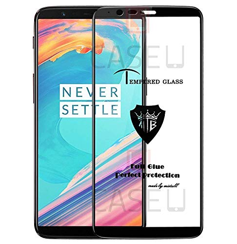 CASE U Full Glue Edge-to-Edge 3D Tempered Glass Screen Protector for OnePlus 5T